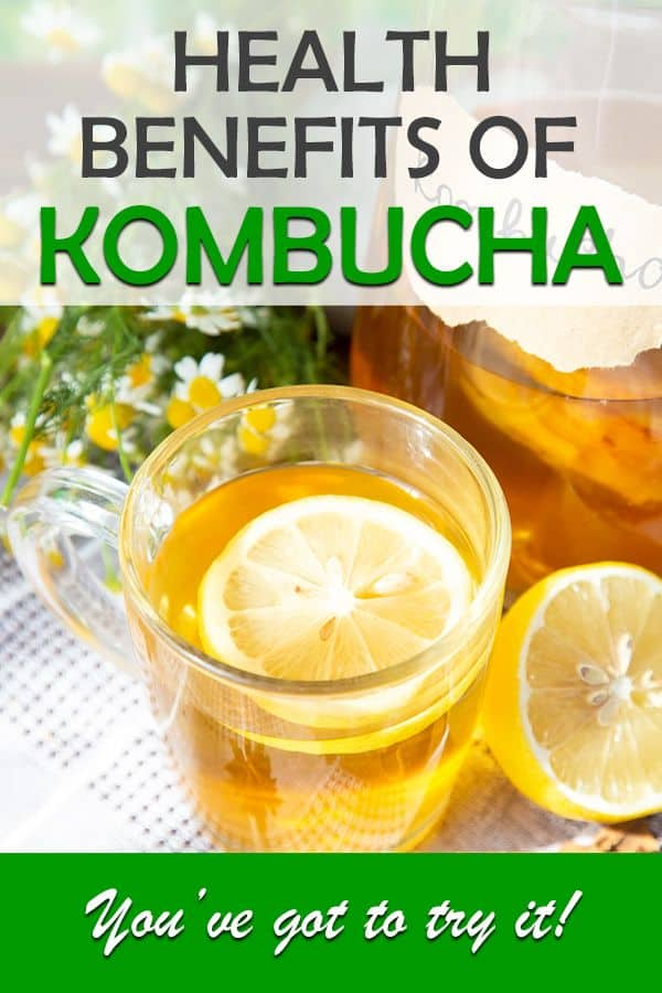 health benefits of kombucha tea and why you should drink it