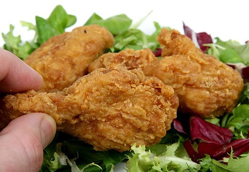 make a deliciously moist chicken first soak the chicken in kefir or buttermilk