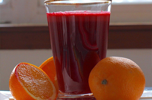 beet kvass is a fermented drink