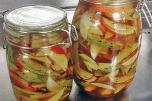 pickled apples with bourbon recipe