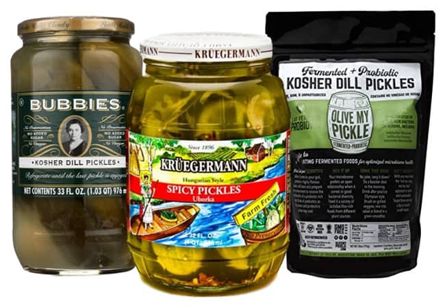 brands of pickles with probiotics